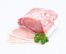 Gezouten bacon